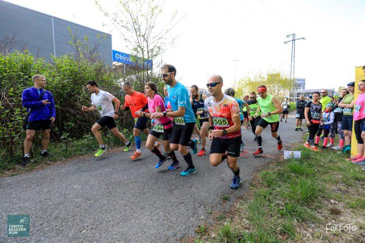 REPORTÁŽ Z ÚVODNÍHO ZÁVODU TEMPO MAKERS RUN NA 5 A 10 KM