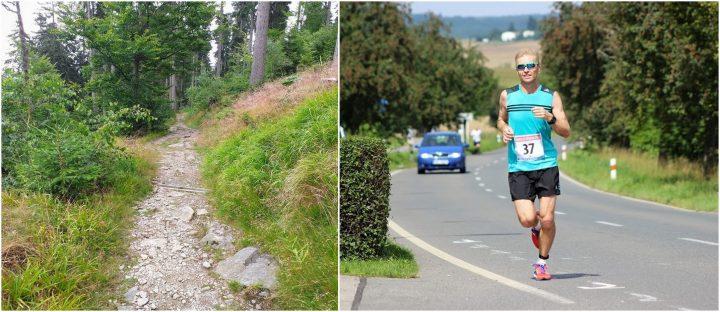 Silnice nebo měkký povrch? Město nebo les?
